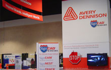 Stand commercial Avery Dennison